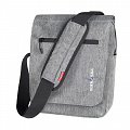 "KLICKfix SmartBag ""Small"" handlebar bag with compartment for small tablets - gray"