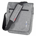 "KLICKfix SmartBag ""Large"" handlebar bag with compartment for iPad, Tablet PC - gray"