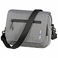 KLICKfix SmartBag Touch - handlebar bike bag with compartment for smartphones - gray