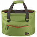 KLICKfix Shopper Fashion green - handlebar basket, bike bag