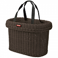 KLICKfix Saleen handlebar bike basket - brown