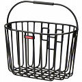 KLICKfix Alumino Basket handlebar bike basket - black