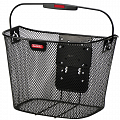 KLICKfix Uni handlebar bike basket - black