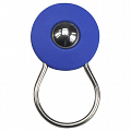 KLICKfix Orbit Keyring keyring with ball - blue
