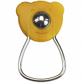 KLICKfix OrbiBar Keyring  keyring with ball - yellow