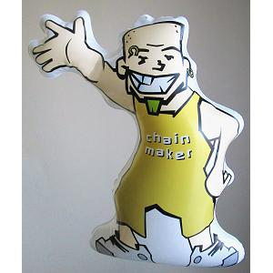 Inflatable 13 inch Chain maker man 1