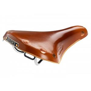 Brooks Team Pro S (Short) Chrome saddle - honey