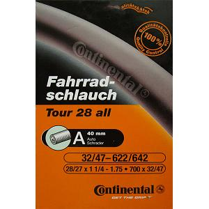 Continental Tour 28 all Bicycle Inner Tube - Schrader (40mm) - 700x32-47 1