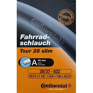 Continental Tour 28 Slim Bicycle Inner Tube - Schrader (40mm) - 700x28-37 1