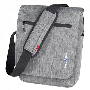 "KLICKfix SmartBag ""Large\"" handlebar bag with compartment for iPad, Tablet PC - gray 1"