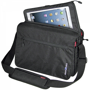 KLICKfix PadBag - handlebar bike bag with compartment for iPad, Tablet PC 1
