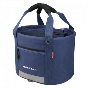 KLICKfix Shopper Comfort Mini blue - handlebar basket, bike bag 1