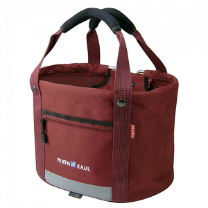 KLICKfix Shopper Comfort Mini red - handlebar basket, bike bag 1