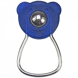 KLICKfix OrbiBar Keyring  keyring with ball - blue 1