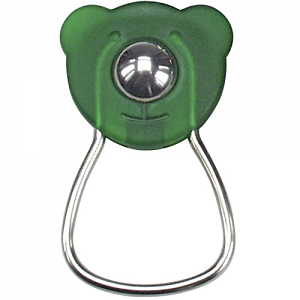 KLICKfix OrbiBar Keyring  keyring with ball - green 1