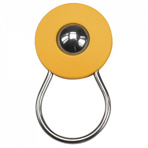 KLICKfix Orbit Keyring keyring with ball - orange