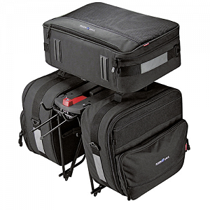 KLICKfix Travel Set for GTA - panniers for carrier adapter 1