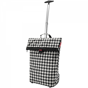 KLICKfix Trolley M Reisenthel pannier -  Fifties black 1