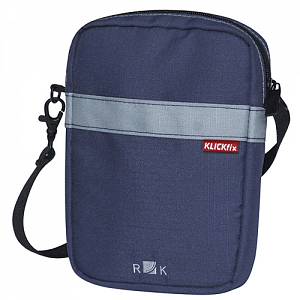 KLICKfix BaB\'s bag for handlebar basket - navy blue 1