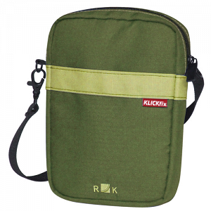 KLICKfix BaB\'s bag for handlebar basket - olive green 1