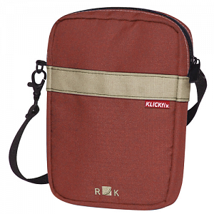 KLICKfix BaB\'s bag for handlebar basket - oxide red 1
