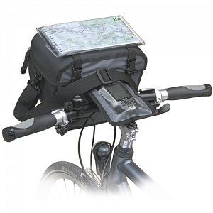 KLICKfix Replacement Map Holder for Ultima Waterproof Handlebar Bag 1