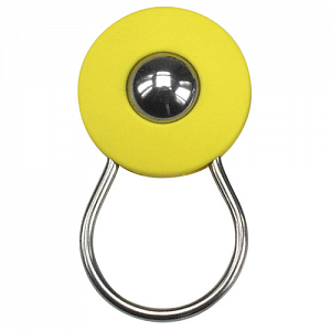 KLICKfix Orbit Keyring keyring with ball - yellow